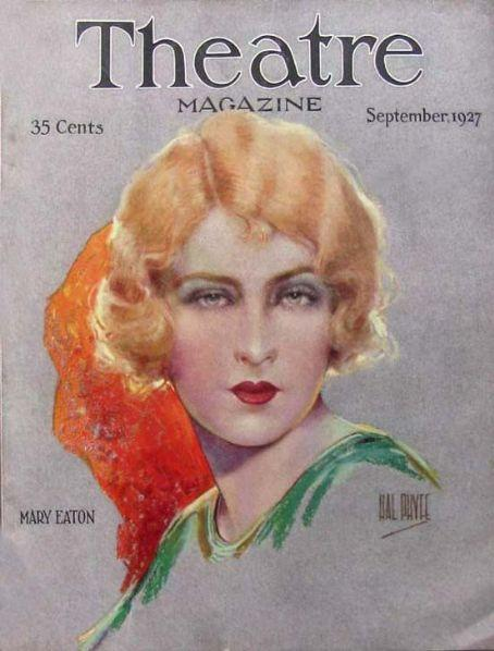 1924 Maybelline ad features Ziegfeld Follies Star, Mary Eaton