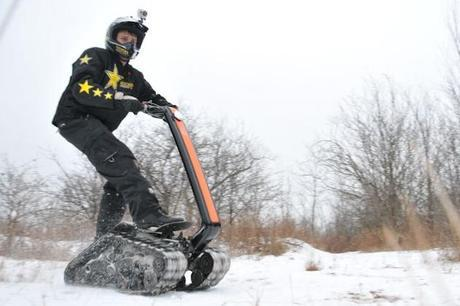All terrain DTV Shredder