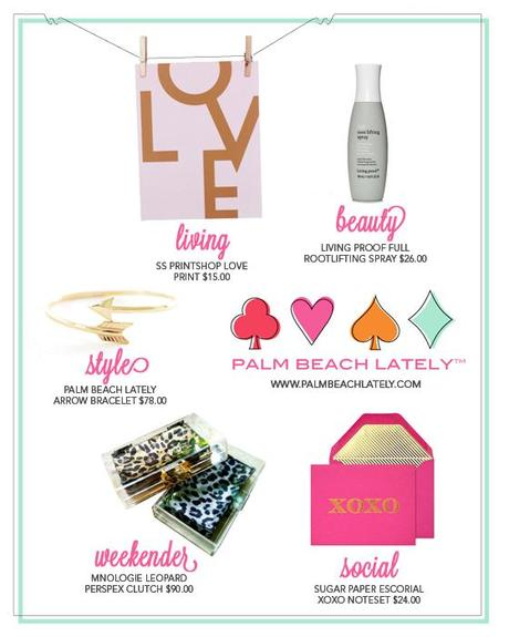 [Guest Post] Palm Beach Lately Valentine's Gift List