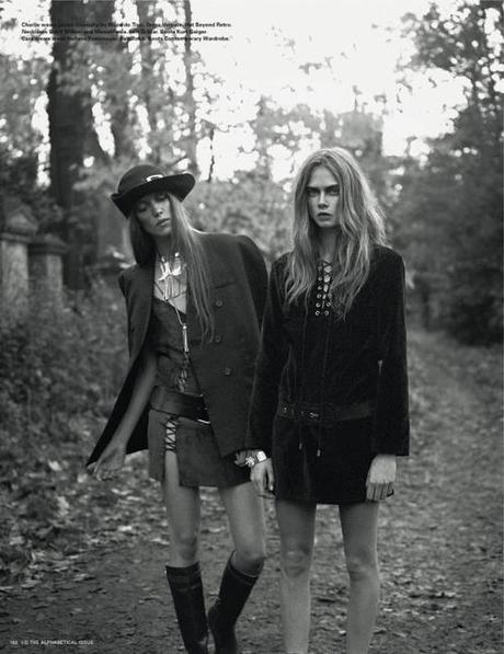 Cara Delevingne, Charlie Bredal, Codie Young, Louise Parker and...