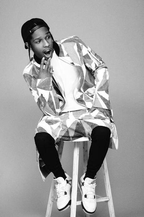 A$AP ROCKY for i-D Magazine in The Alphabetical Issue Buy the...