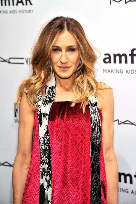Celeb Style: Sarah Jessica Parker attended the amfAR New York...