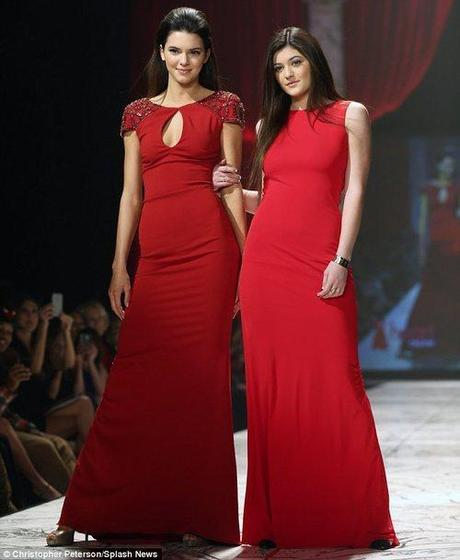Raising awareness for women's heart health, Kendall and...