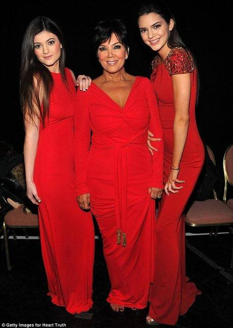 Raising awareness for women's heart health, Kendall and...