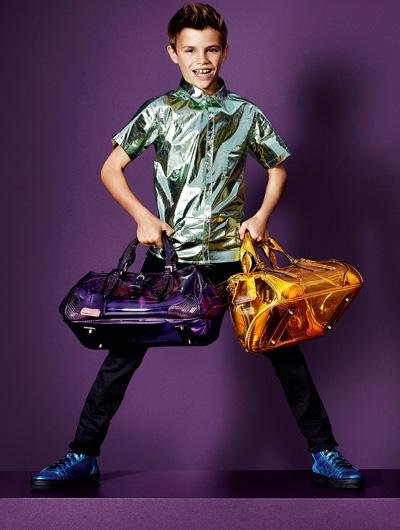 Romeo Beckham for Burberry Spring/Summer 2013 Ad...