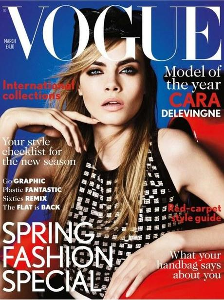 Cara Delevingne Makes Her British Vogue Cover Debut