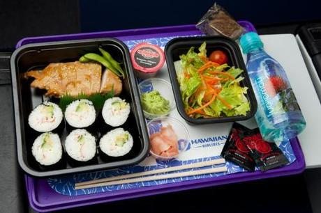Healthy airline food