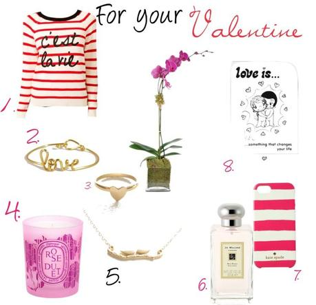 Valentine gifts for her paperblog for Valentines delivery gifts for her