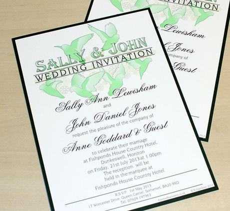 examples of wedding fonts compiled by Artemis Stationery (6)