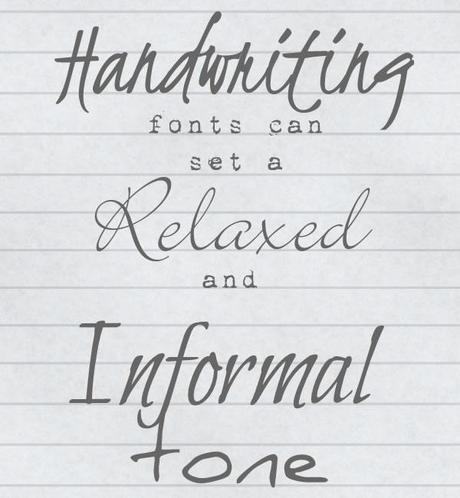 examples of wedding fonts compiled by Artemis Stationery (4)