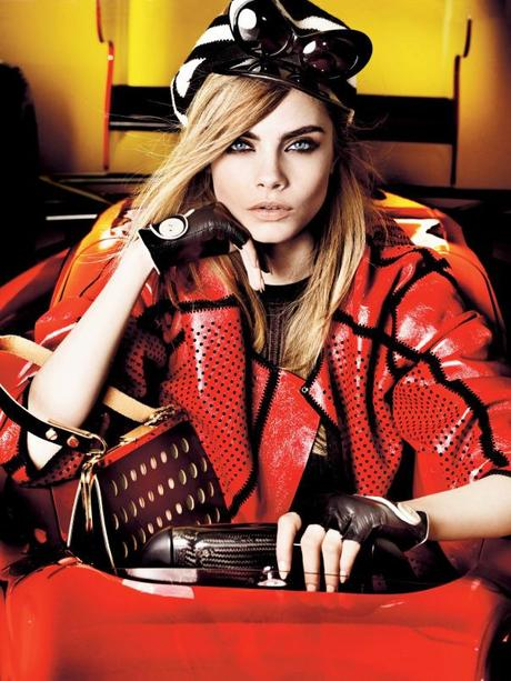 Cara Delevingne by Mario Testino for Vogue UK March 2013 5