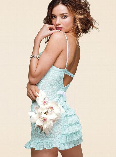 Miranda Kerr for the Victoria Secret Bridal Lingerie Collection2