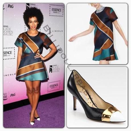 Celeb Style: Solange Knowles attended the ESSENCE's 4th...