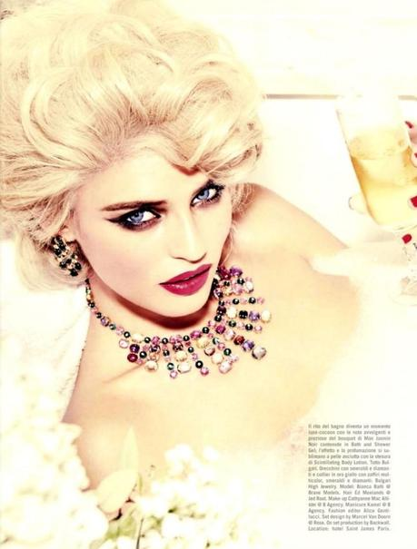 Bianca Balti by Ellen Von Unwerth for Vogue Italia February 2013 6