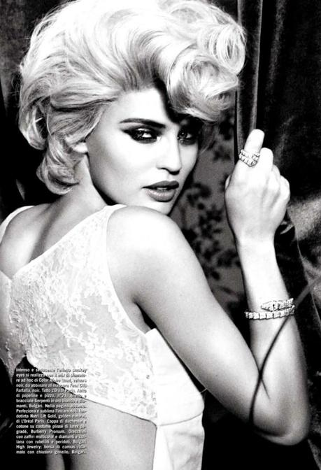 Bianca Balti by Ellen Von Unwerth for Vogue Italia February 2013 2