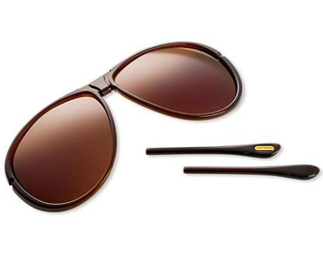 Tom Ford Robbie Sunglasses ($525) The frame has a bridge that...