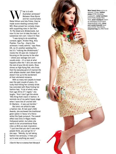 Rose Byrne by Coliena Rentmeester for Glamour UK March 2013 5