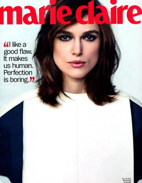 Cover- Keira Knightley by Nathaniel Goldberg for Marie Claire US March 2013 2