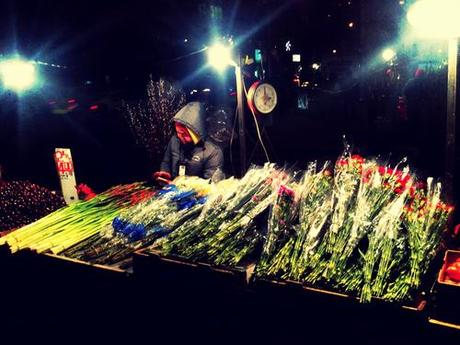 Flowers for the Chinese New Year.
