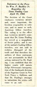 National Review, May 3, 1966.