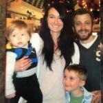 Joe and Leigh with Kids