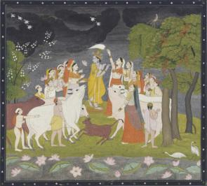 Miriam's inspiration for the Krishna animation
