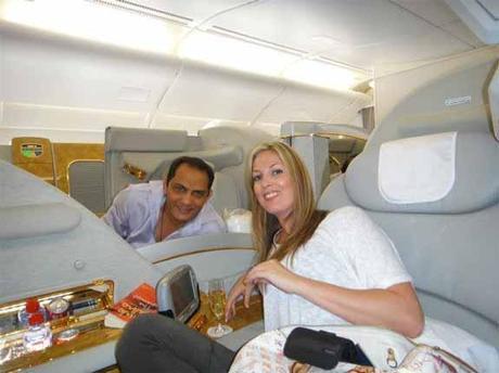 Mohammad Azharuddin and Shenon Mary Talwar 3