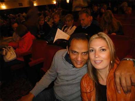 Mohammad Azharuddin and girlfriend