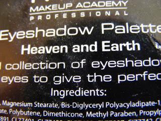MUA Heaven & Earth Palette
