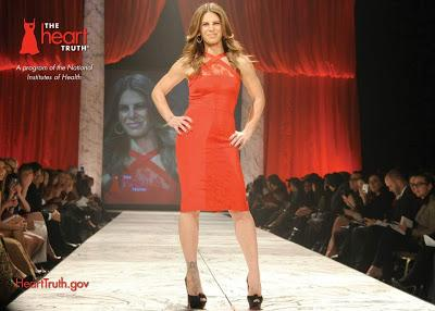 The Heart Truth Red Dress Fashion Show 2013