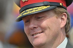 Prince Willem-Alexander is the host on veteran...