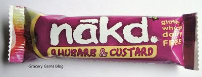 Nākd Rhubarb & Custard Fruit Bar Review
