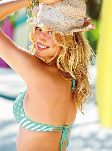 Toni Garrn for Victoria Secret Swimwear Spring 2013 campaign6