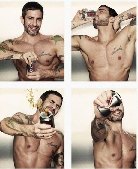 Marc Jacobs Takes A Diet Coke Break