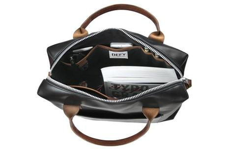 Defy Bags Luxe Leather Brief