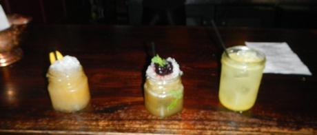 Three Mixology Cocktails