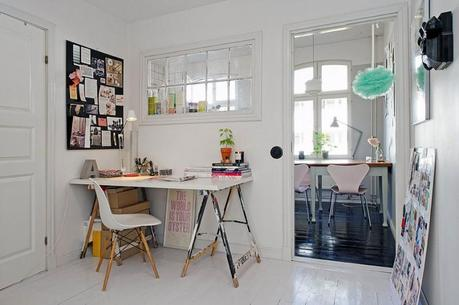 Artistic Clutter in a 550-Square-Foot Apartment by Johanna Laskey 6
