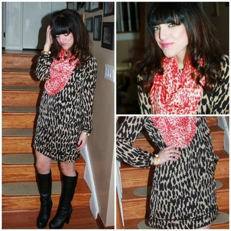 Outfit: Animal Print X2