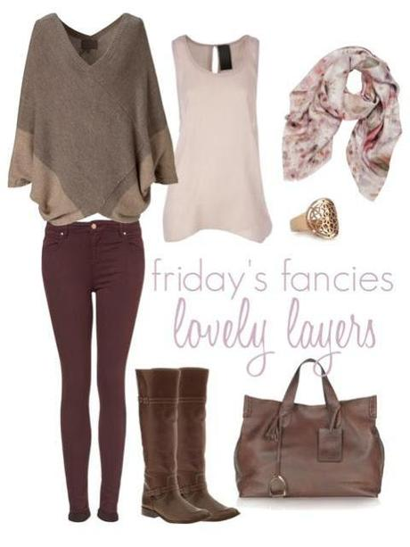 friday's fancies : lovely layers.