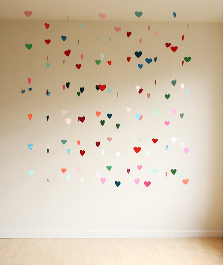 Floating Hearts Backdrop