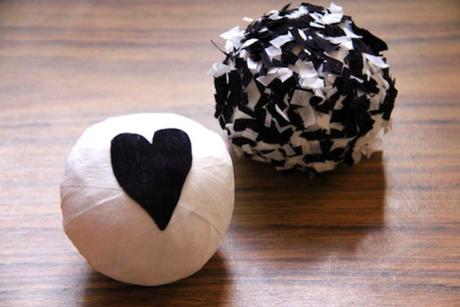 DIY surprise balls.