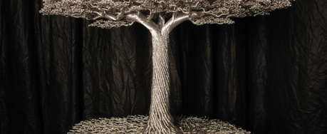 Amazing metal wire trees