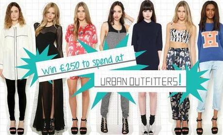 WIN £250 TO SPEND AT URBAN OUTFITTERS