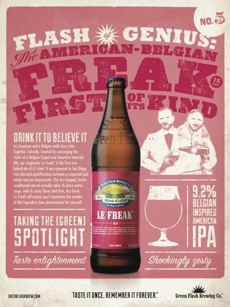 Green Flash Le Freak Info