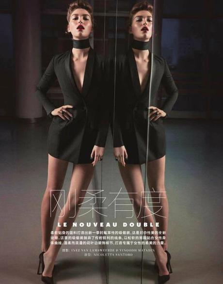 Arizona Muse for Vogue China March 2013 in Le Nouveau...