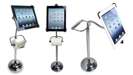 Pedestal Stand with Roll Holder for iPad CTA Digital's Pedestal...
