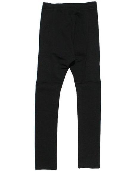 Balmain Drop Crotch Sweatpants in black