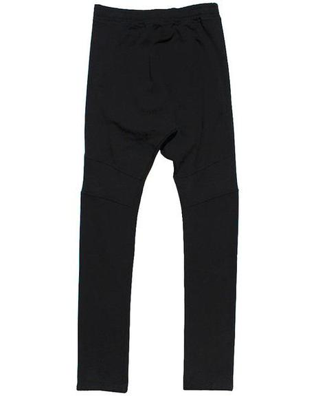 Balmain Drop Crotch Sweatpants in black