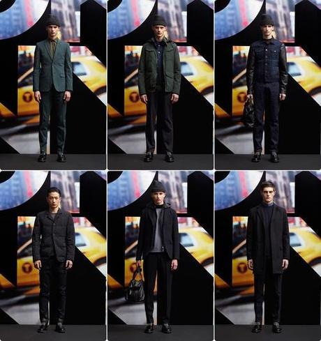 DKNY Fall/Winter 2013 Menswear   New York Fashion Week