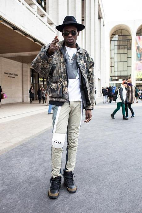 NYFW Streetstyle: Theophilus London by William Yan. View more...